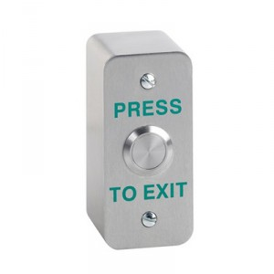 Stainless steel exit switch Architrave